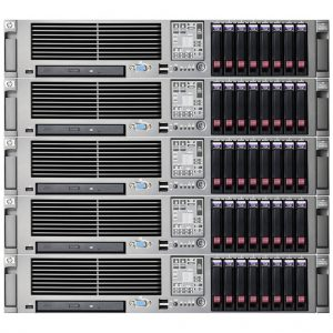 Server HP ProLiant DL380 G5 (Xeon)