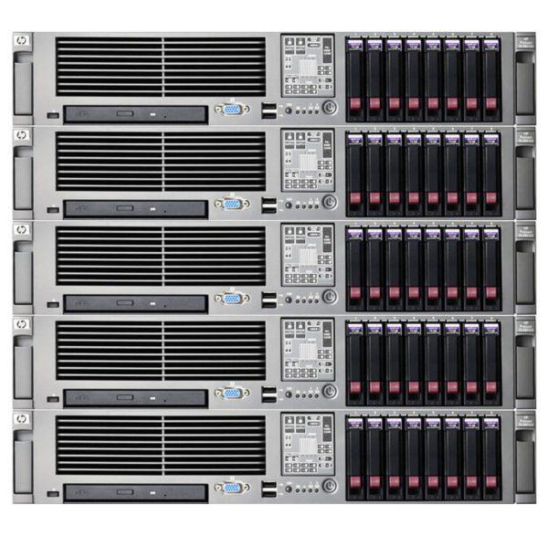 Server HP ProLiant DL380 G5 (Xeon)