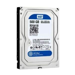 "Hard Disk WD Blue 500 GB Desktop 7200 rpm SATA-I 3,5"""