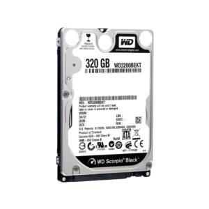 Hard Disk WD Black 320 GB Laptop 7200 rpm SATA-II 2,5″