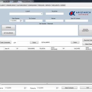 Aplicatie CRM pentru Distribuitorii Autorizați de Case de Marcat