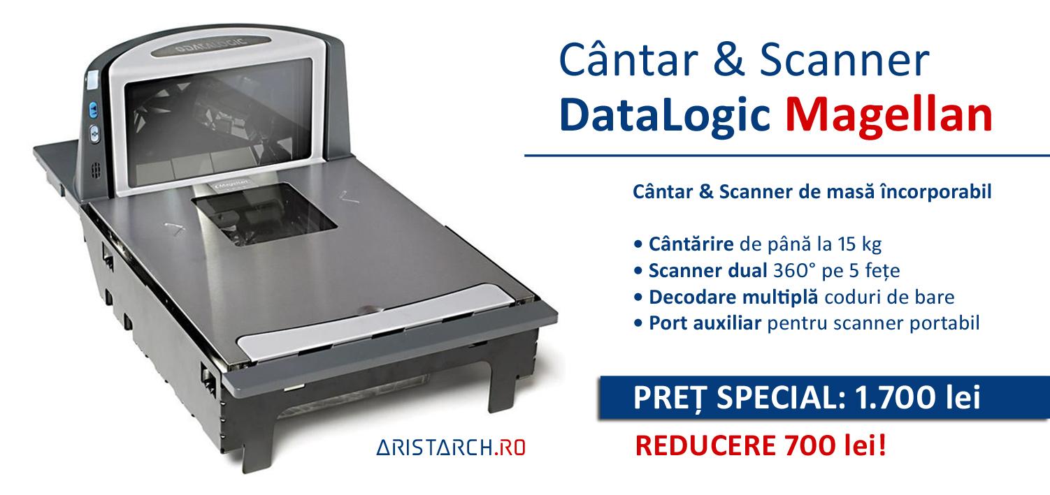 Banner Cantar electronic incorporabil cu Scanner - Datalogic Magellan seria 8400