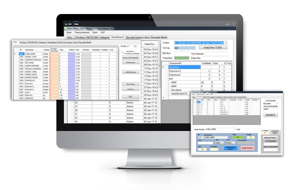 Back-Office este un instrument esențial pentru controlul și administrarea detaliată a oricărei afaceri. Centralizează, calculează și raportează!