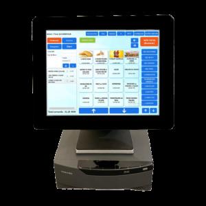 """Sistem PC POS TOSHIBA + Monitor FEC 15"""""""