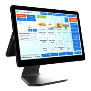Sistem POS All In One Capacitive Multi-Touch Screen dual screen